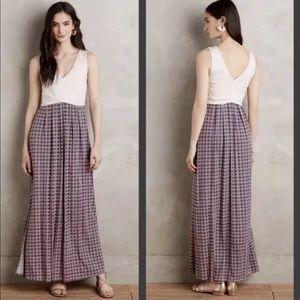 Anthropologie Maeve Elysian maxi dress